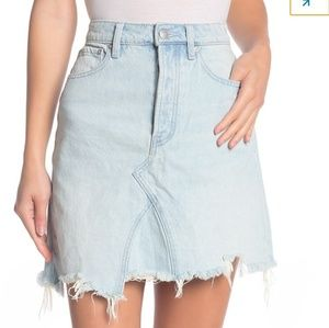 27 Free People going rogue skirt